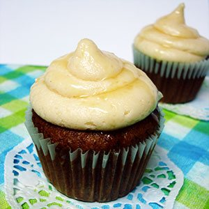 Honey Bananas Cupcake